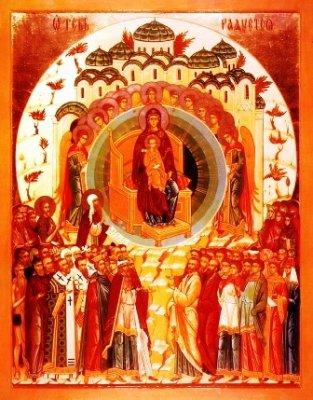 8 იანვარი (ახ. სტ.) - კრება ყოვლადწმიდისა ღვთისმშობელისა