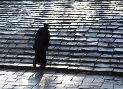 ახალგაზრდა მონაზონი, რომელიც თვითნებურად შეუდგა განდეგილობის ღვაწლს, ეშმაკმა აცდუნა და ჯერ შთააგონა მეზობელ მონასტერში წასულიყო საზიარებლად, შემდეგ კი ერში დააბრუნა და ცოდვით დასცა
